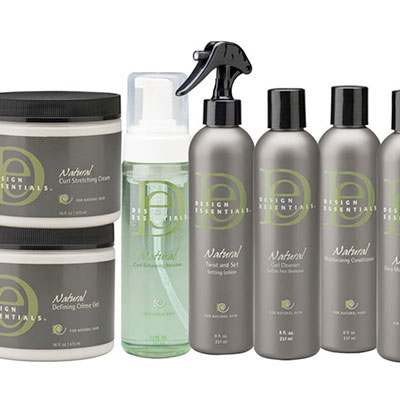 Design essentials hair care