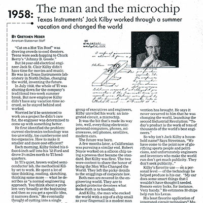 The Man and the Microchip