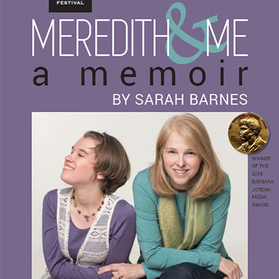 Meredith & Me poster design by Gretchen Heber