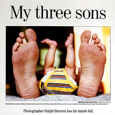 My Three Sons by Gretchen Heber