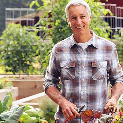 Get gardening tips and ideas from TV personality Joe Lamp'l | SocialGazelle.com