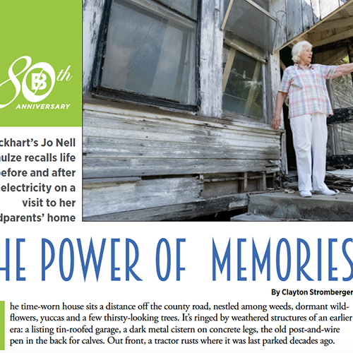 Member profile magazine layout by Gretchen Heber | SocialGazelle.com